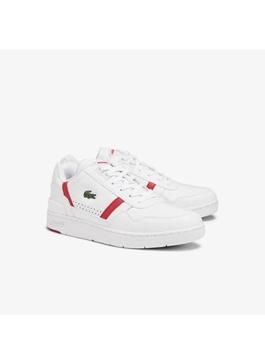 Lacoste Erkek T-Clip 0721 2 Sma Sneakers 741SMA0023.286 Beyaz